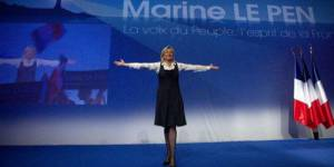 Marine Le Pen, candidate du Front National