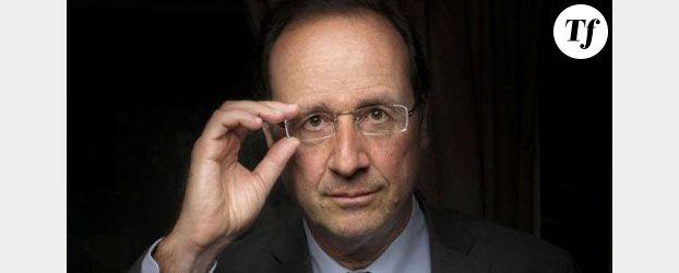 François Hollande, candidat du Parti Socialiste