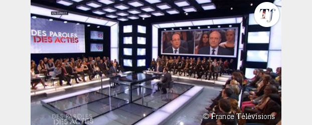 Débat Hollande-Juppé : des attaques et un échange très technique