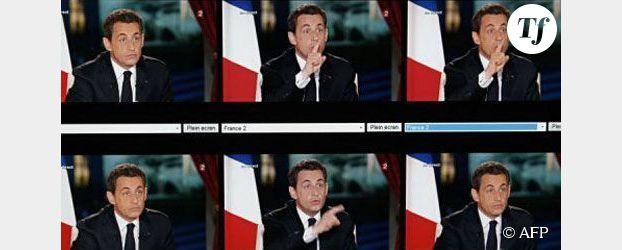 Intervention télévisée de Nicolas Sarkozy : président jusqu'au bout