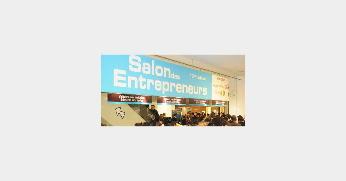 Top d part de la 19e dition du salon des entrepreneurs for Salon des entrepreneurs de paris
