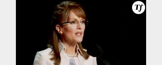 Julianne Moore devient Sarah Palin - Vidéo