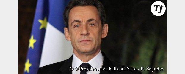 Nicolas Sarkozy, candidat de l'Union pour un Mouvement Populaire