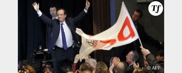 Présidentielle : Hollande brocarde Sarkozy sur ses propositions