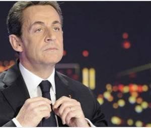 Le candidat Nicolas Sarkozy en campagne pour une « France Forte »