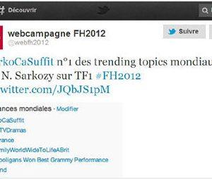 Candidature de Nicolas Sarkozy : Twitter s'enflamme