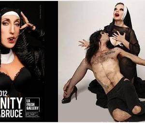 Expo photo LaBruce : Rossy de Palma scandalise l'Espagne en nonne sexy