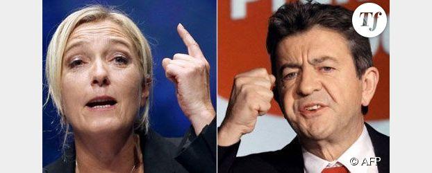Le Pen/Mélenchon sur France 2 : le débat tourne au clash