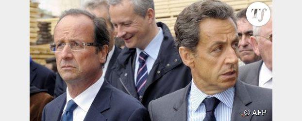 François Hollande/Nicolas Sarkozy : opposition frontale