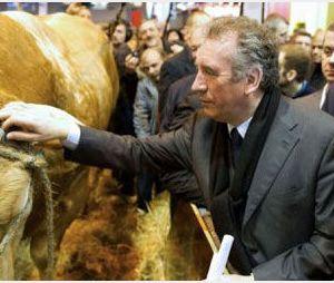 François Bayrou se veut le candidat des agriculteurs