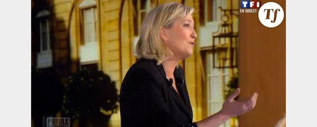 Marine Le Pen pourrait envisager le déremboursement de l'IVG