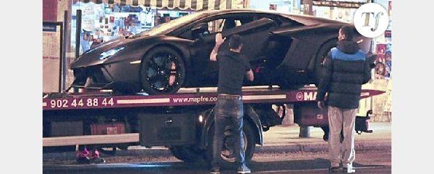 Cristiano Ronaldo : sa Lamborghini en panne