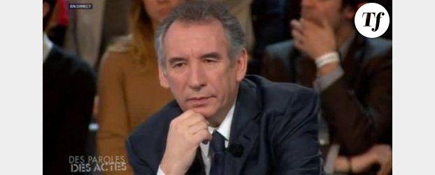 Bayrou sur France 2 : le candidat du MoDem croit au second tour
