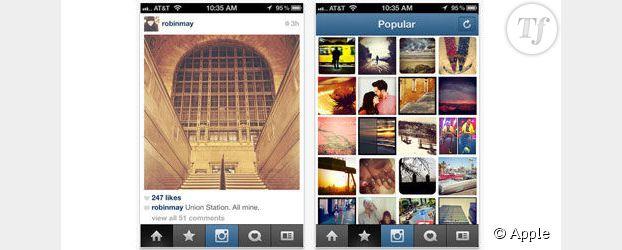 Appli Instagram : une meilleure version pour Android