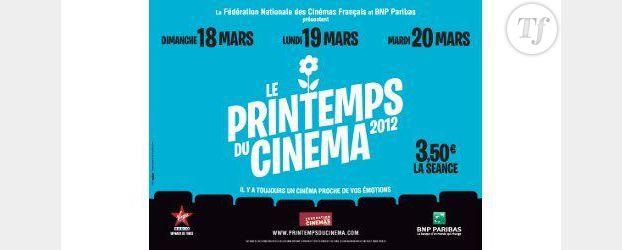 Printemps du Cinéma 2012 : 3,50 euros la séance pour tous les films
