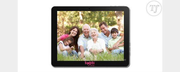 Tooti Family : une tablette tactile pour les séniors