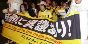 Peine de mort : trois condamnés exécutés au Japon
