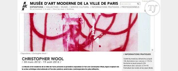 Christopher Wool : sérigraphies baroques au MaM de Paris