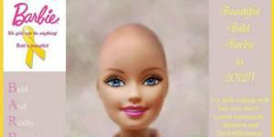 Une Barbie chauve pour soutenir les enfants touchés par le cancer