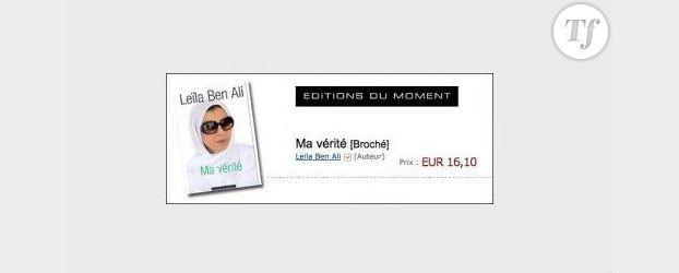 Tunisie : la vérité de Leïla Ben Ali dans un livre