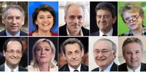 Présidentielle 2012 : le grand oral des candidats sur le plateau de « Mots Croisés »