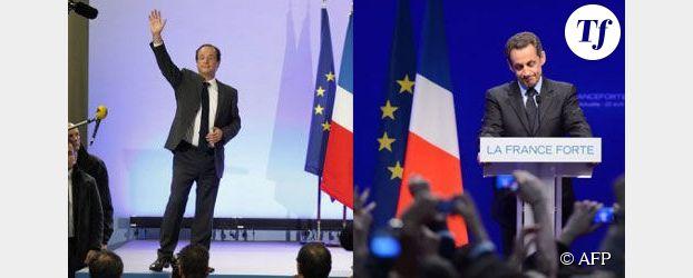 Hollande/Sarkozy : le second match de la présidentielle est lancé