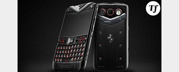 Vertu Constellation Quest Ferrari : le téléphone de luxe