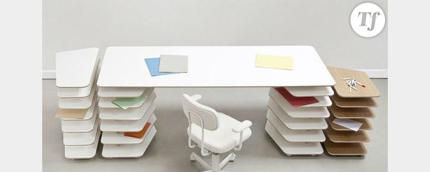 Strates, le bureau design