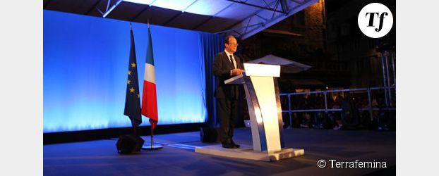 François Hollande à Tulle : la clameur de la victoire