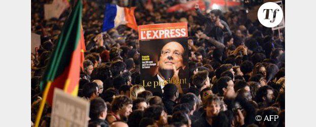 Victoire de Hollande : la presse et la gauche saluent le nouveau président