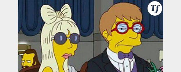 Lady Gaga dans les Simpson – vidéo