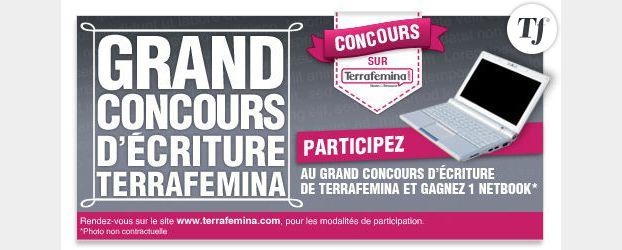 1er concours d'écriture de Terrafemina : devenez auteur et gagnez un Netbook
