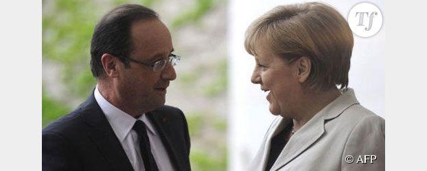 Merkel et Hollande s'entendent sur la Grèce, moins sur la croissance