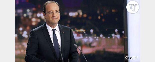 François Hollande au JT de France 2 : « je suis un président en action »