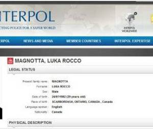 Luka Rocco Magnotta : le Canadien suspecté d'avoir démembré un corps traqué par Interpol