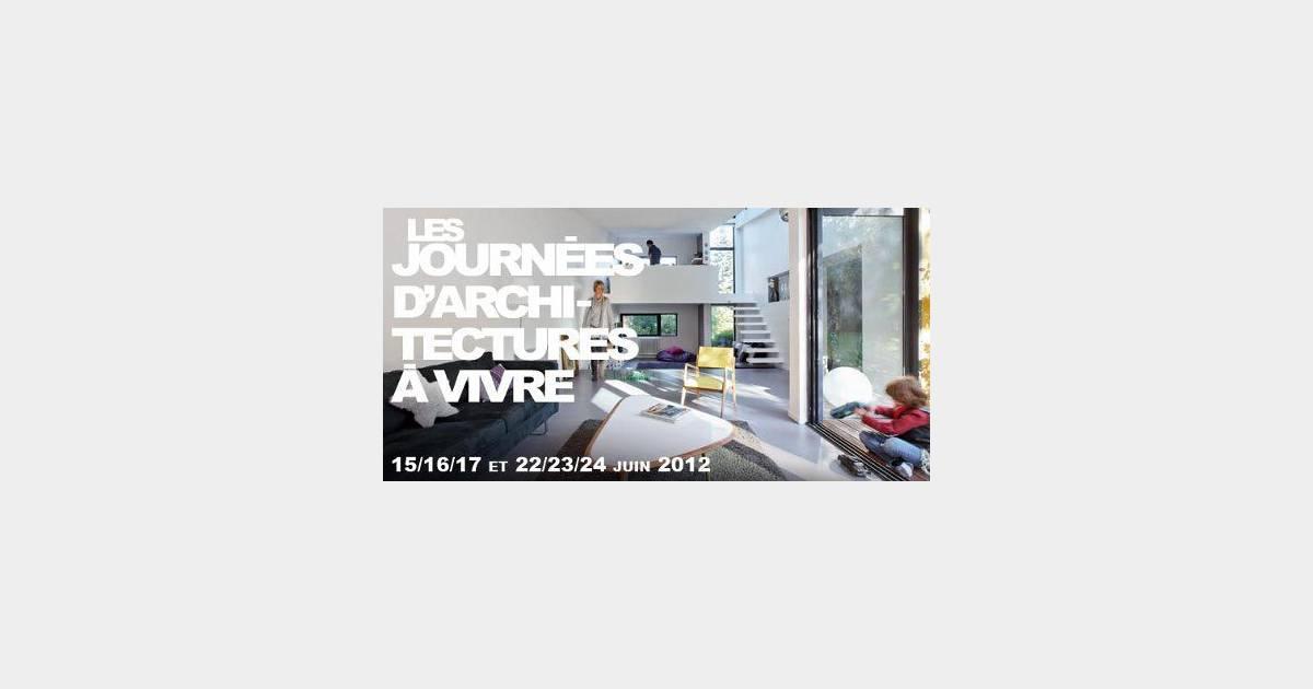 Journ es d 39 architectures vivre visitez des maisons d for Architecture a vivre magazine
