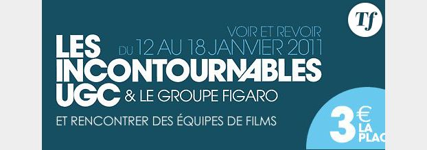 Cinéma : « Les incontournables » à 3 euros  chez UGC du 12 au 18 janvier 2011