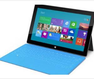 Surface : la tablette tactile de Microsoft