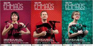 Salon Emmaüs 2012 : la brocante solidaire