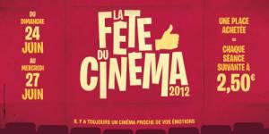 Fête du Cinéma 2012 : les séances à 2,5 euros