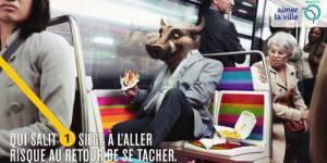 RATP : une campagne de pub pour lutter contre les incivilités