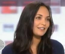Valérie Bègue enceinte de Camille Lacourt