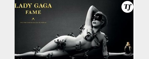 Lady Gaga : elle pose nue pour son parfum Fame