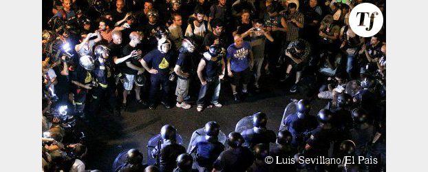 Espagne : manifestation à Madrid contre l'austérité
