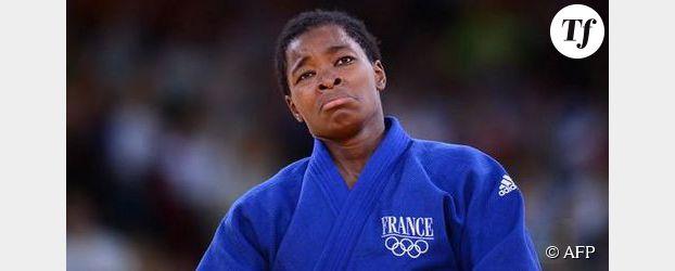 JO de Londres 2012: Tcheuméo pleure sur sa médaille de bronze en judo