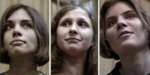 Pussy Riot : Poutine demande une justice clémente pour les féministes