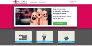 Cup of teach : vous prendrez bien un cours entre particuliers ?