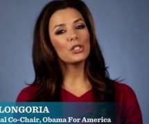 Présidentielle USA 2012 : Eva Longoria fait campagne pour Barack Obama (vidéo)