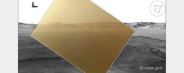 Curiosity sur Mars : la première photo en couleur de la planète rouge