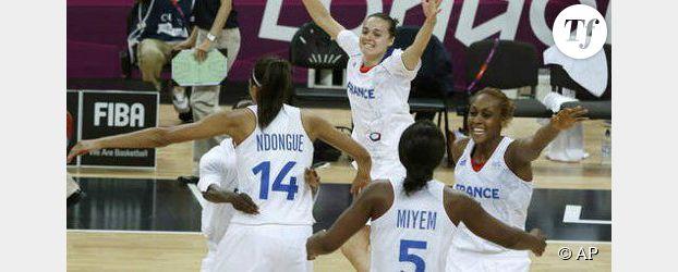 JO de Londres 2012 : les basketteuses françaises en finale, la médaille de bronze pour Marlène Harnois